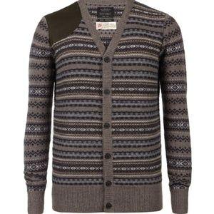 Allsaints Spitalfields Break Cardigan sweater XL